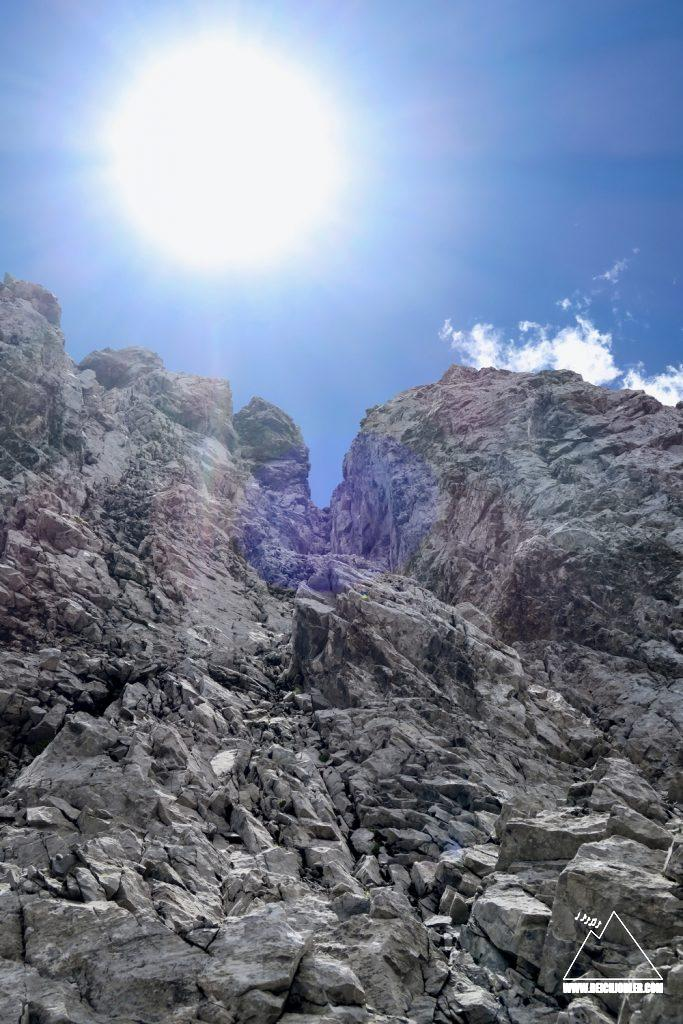 Kamin Spritzkarspitze