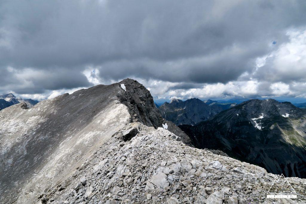 Gipfel Spritzkarspitze