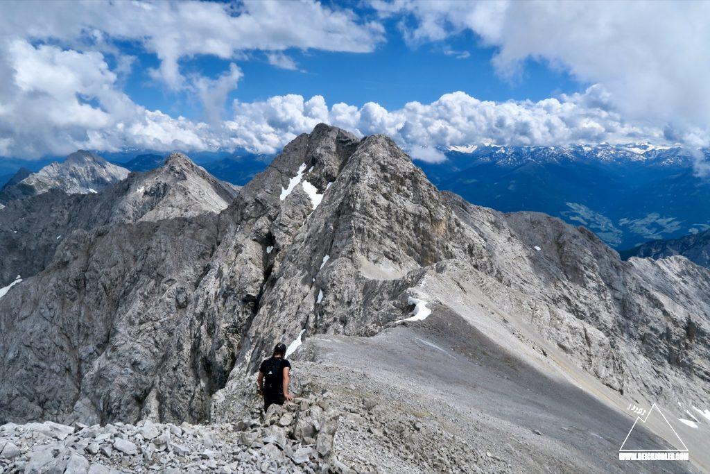 Westgrat Eiskarlspitze