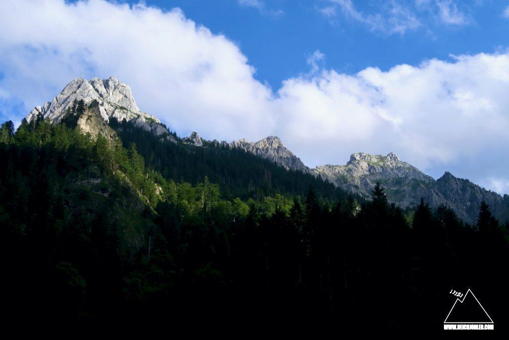 Geiselstein, Gumpenkarspitze, Gabelschrofen