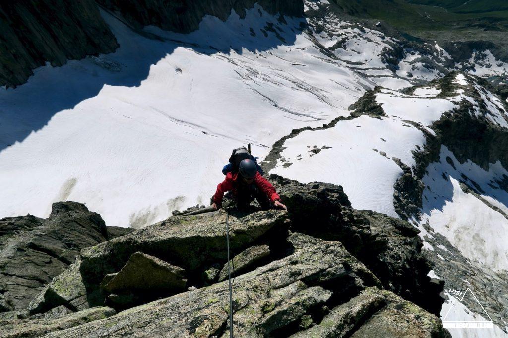 Kletterei Galenstock SO-Sporn