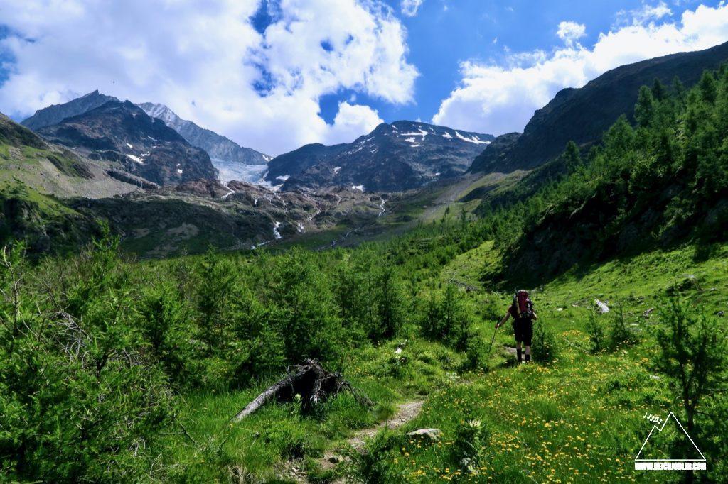 Aufstieg Bietschhornhütte