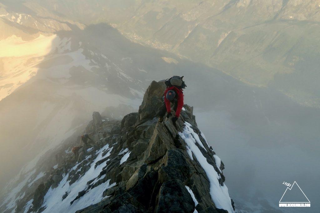 Aufstieg Bietschhorn