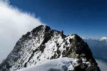 Bietschhorn Gipfelgrat
