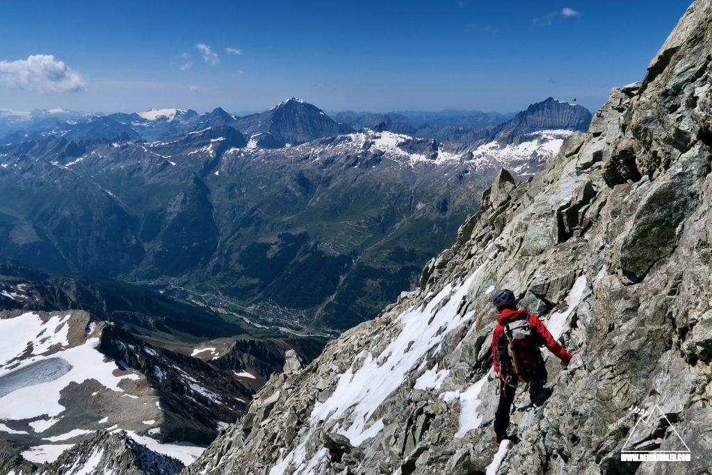 Abstieg Bietschhorn