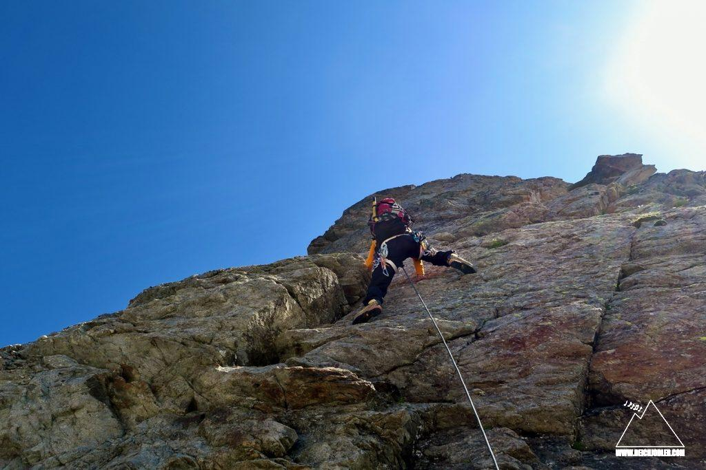 Klettern Sackhorn Südwestgrat